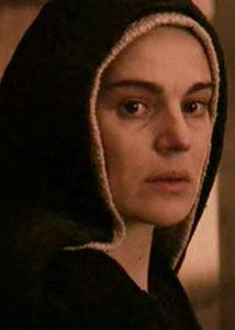Maria uit de film The Passion of the Christ